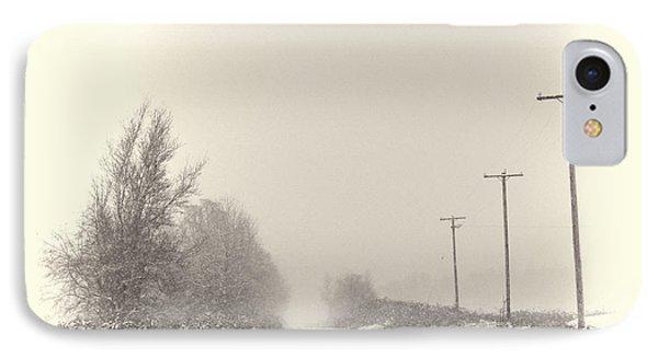 Snow Scene IPhone Case by Erica Hanel