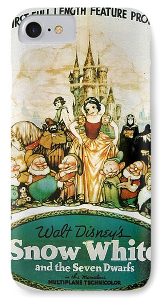 Snow White And The Seven Dwarfs IPhone Case by Georgia Fowler
