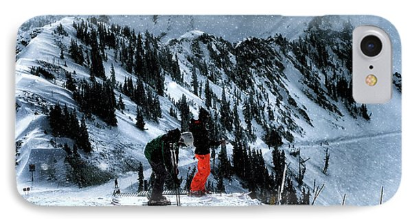 IPhone Case featuring the photograph Snowbird by Jim Hill