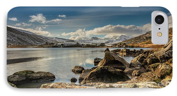 IPhone Case featuring the photograph Snowdon From Llynnau Mymbyr by Adrian Evans