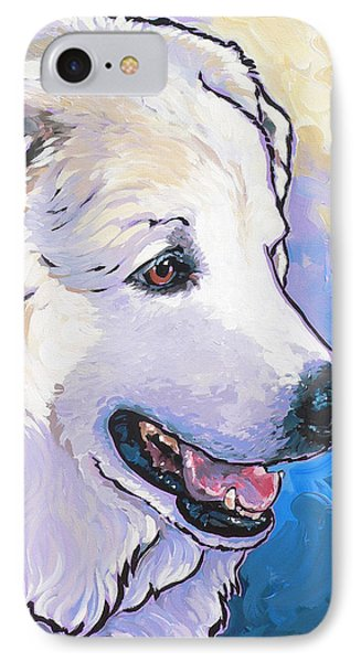 Snowdoggie IPhone Case by Nadi Spencer