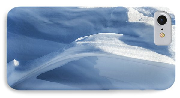 IPhone Case featuring the photograph Snowdrift Structure by Angela DeFrias