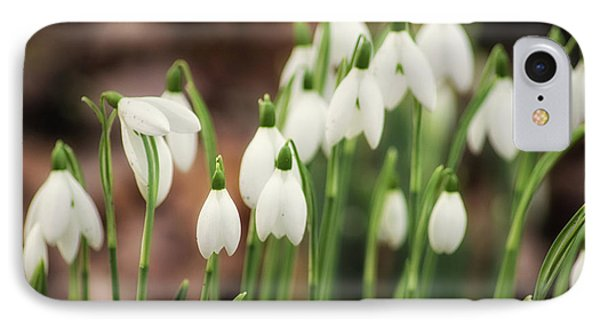Snowdrop IPhone Case by Martin Newman