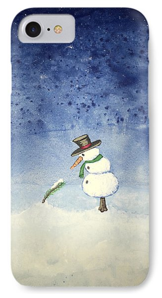 Snowfall IPhone Case by Antonio Romero