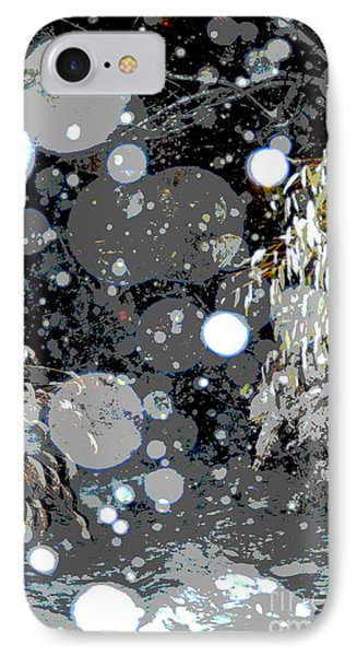 Snowfall Deconstructed IPhone Case by Li Newton
