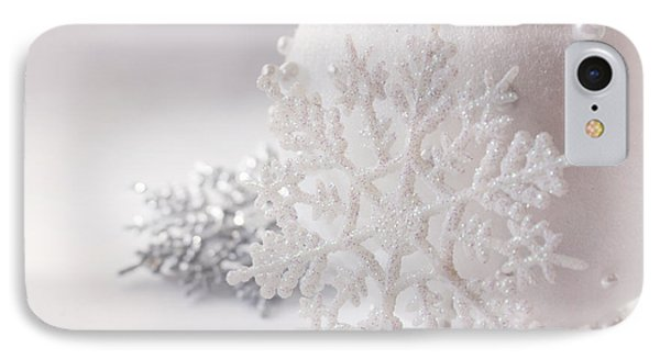 Snowflake IPhone Case by Cindy Garber Iverson