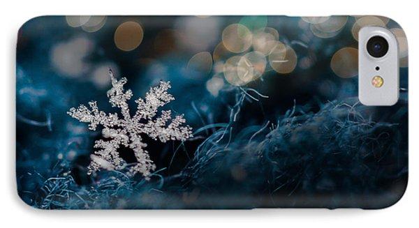 Snowflake IPhone Case by Elena E Giorgi