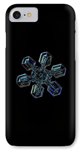 Snowflake Photo - High Voltage IIi IPhone Case