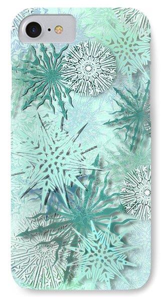 Snowflakes IPhone Case by AugenWerk Susann Serfezi