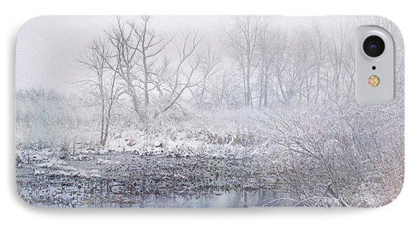Snowmist Marsh IPhone Case by Kathi Mirto