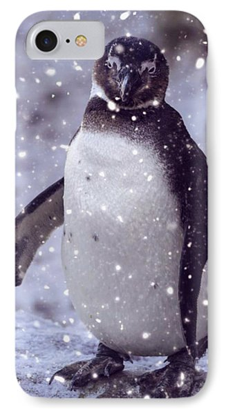 IPhone Case featuring the photograph Snowpenguin by Chris Boulton