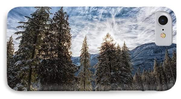 Snowy Clouds IPhone Case
