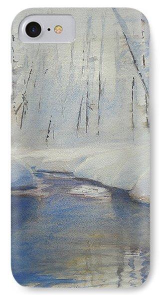 Snowy Creek IPhone Case