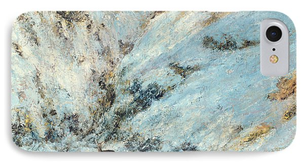 Snowy Landscape Phone Case by Gustave Courbet