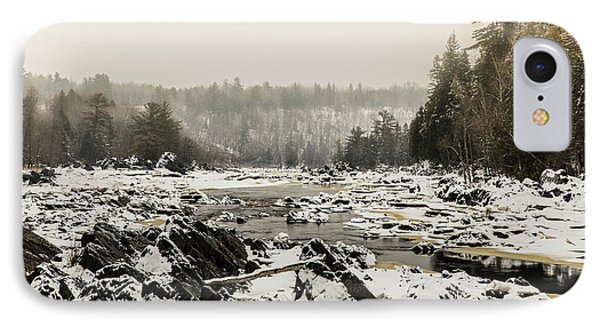 Snowy Morning At Jay Cooke IPhone Case