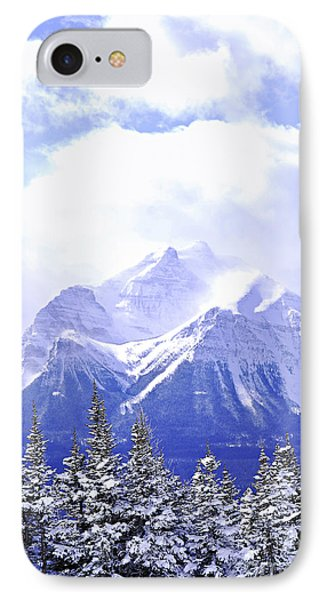 Mountain iPhone 7 Case - Snowy Mountain by Elena Elisseeva