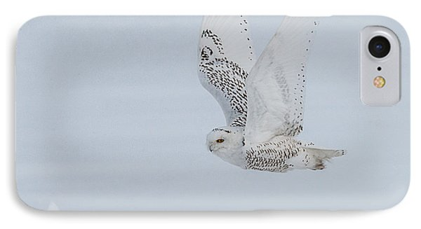 IPhone Case featuring the photograph Snowy Owl #3/3 by Patti Deters