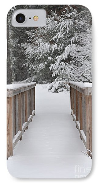 Snowy Path Phone Case by Catherine Reusch Daley