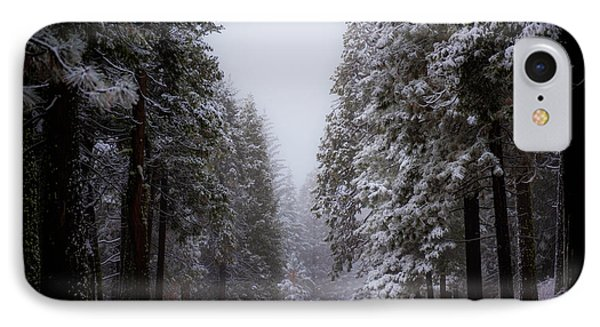 Snowy Path IPhone Case