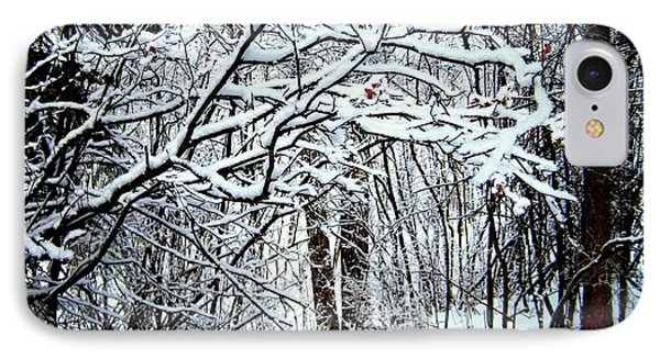 Snowy Silence IPhone Case by Shirley Sirois
