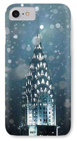 Snowy Spires IPhone Case by Az Jackson