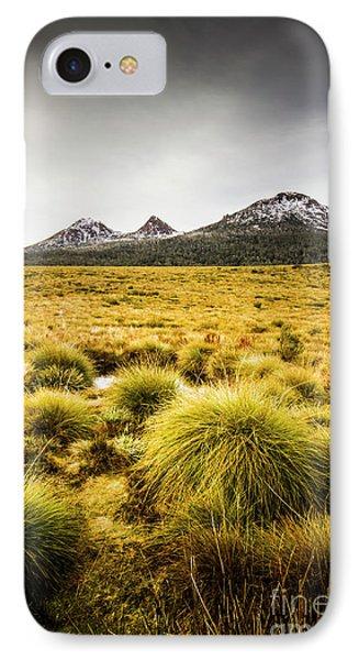 Snowy Tasmania Mountain Top IPhone Case by Jorgo Photography - Wall Art Gallery