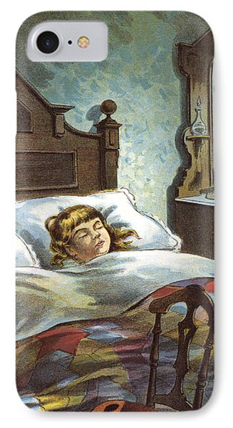 Snug In Their Bed On Christmas Eve IPhone Case by William Roger Snow