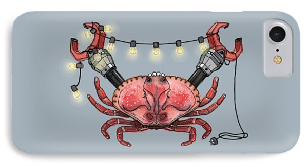 So Crabby Chic IPhone Case by Kelly Jade King