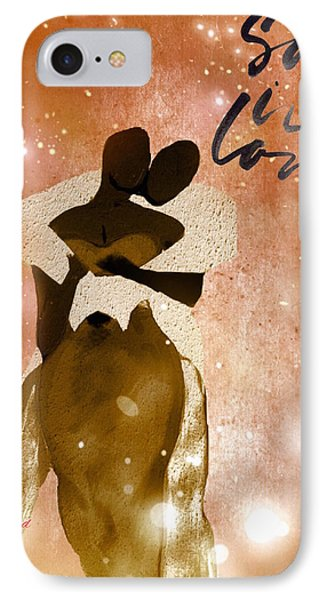 So In Love One IPhone Case by Romaine Head