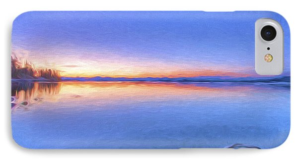 So Quiet II IPhone Case by Jon Glaser
