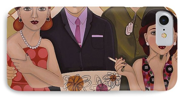 So We Meet Again IPhone Case by Stephanie Cohen