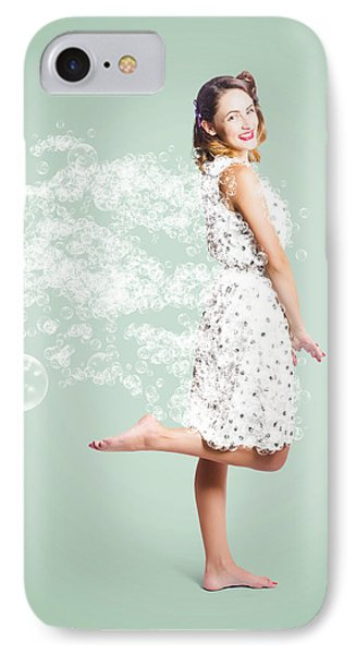 Soap Suds Pin Up Girl IPhone Case