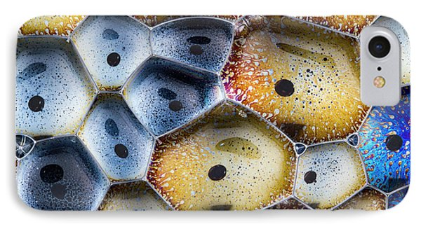 IPhone Case featuring the photograph Soapy Colors by Jean Noren
