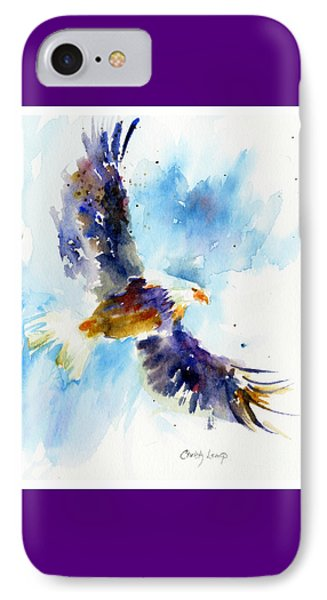 Soaring Eagle Phone Case by Christy Lemp