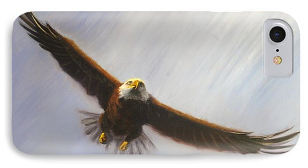 Soaring Eagle Phone Case by Greg Neal