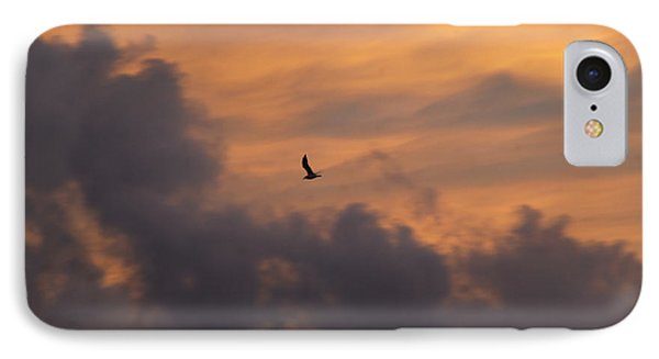 IPhone Case featuring the photograph Soaring Into The Sunset by Richard Bryce and Family