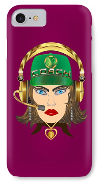 Soccer Coach Mom 5 Any Product IPhone Case