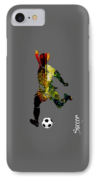 Soccer Collection IPhone Case by Marvin Blaine