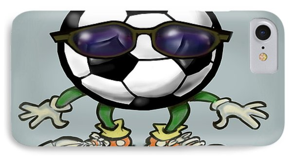 Soccer Cool Phone Case by Kevin Middleton
