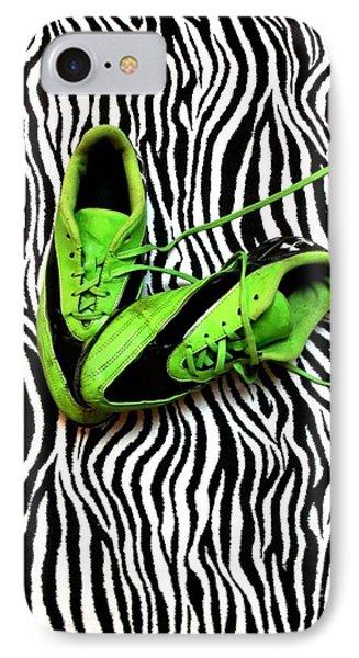 Soccer Girl IPhone Case by Sarah Farren