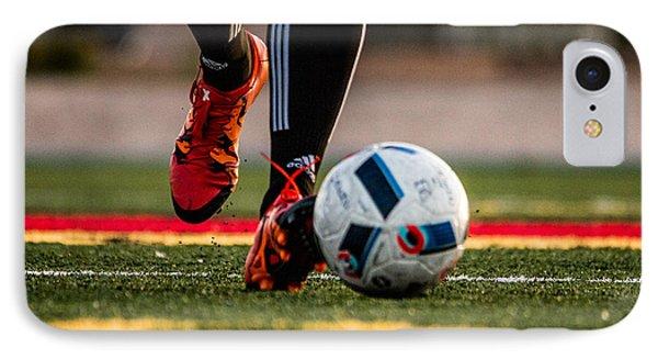 Soccer iPhone 7 Case - Soccer by Hyuntae Kim