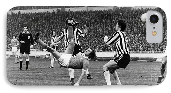 Soccer Match, 1976 Phone Case by Granger