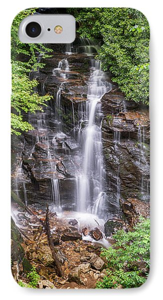 IPhone Case featuring the photograph Socco Falls by Stephen Stookey