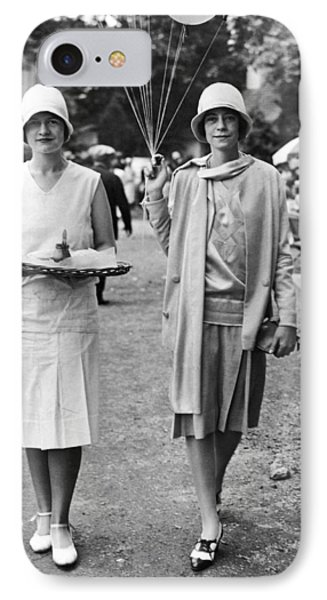 Society Women At Devon Charity IPhone Case by Underwood Archives