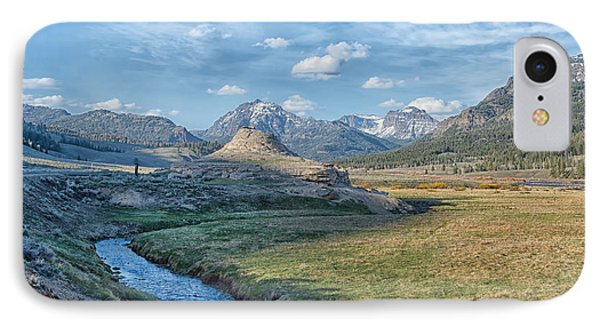 Soda Butte IPhone Case by CR  Courson