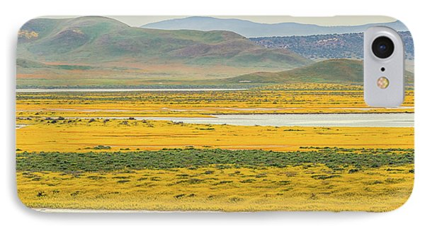 IPhone Case featuring the photograph Soda Lake To Caliente Range by Marc Crumpler