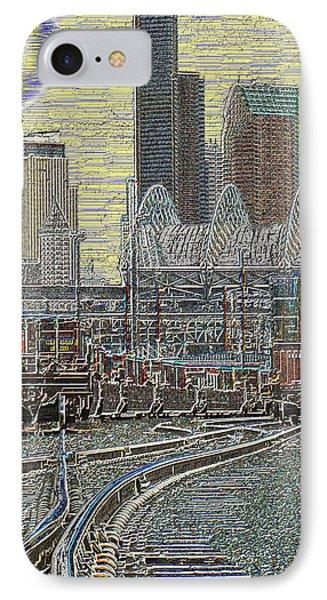 Sodo Tracks IPhone Case by Tim Allen
