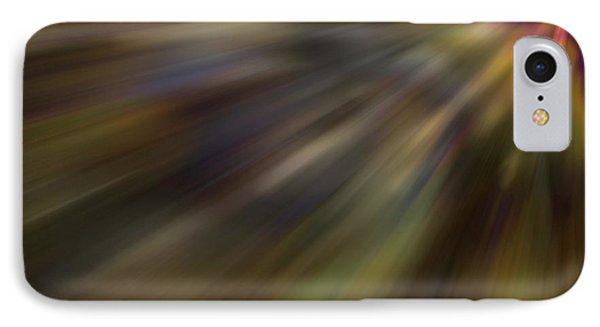 Soft Amber Blur IPhone Case