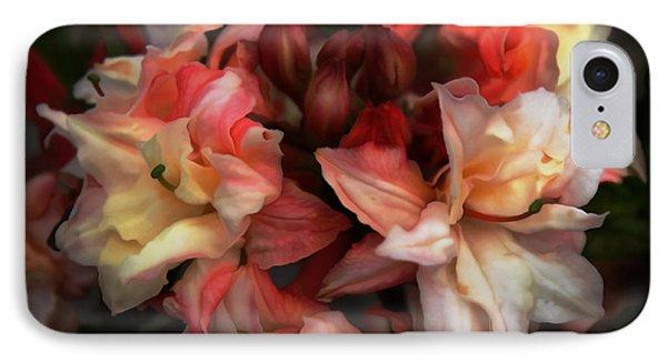 Soft Azalea IPhone Case by Erica Hanel