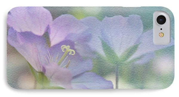 IPhone Case featuring the photograph Soft Blue by Ann Lauwers